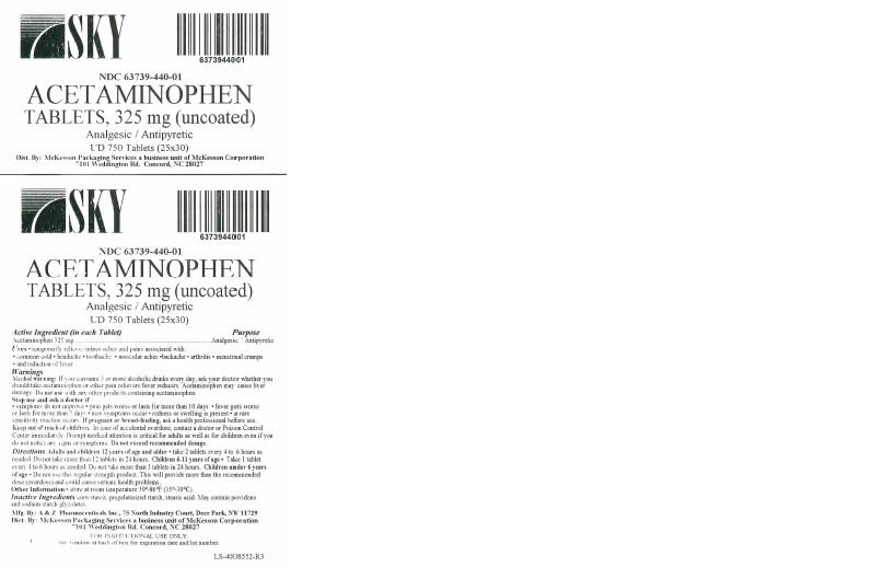 Acetaminophen 325 mg