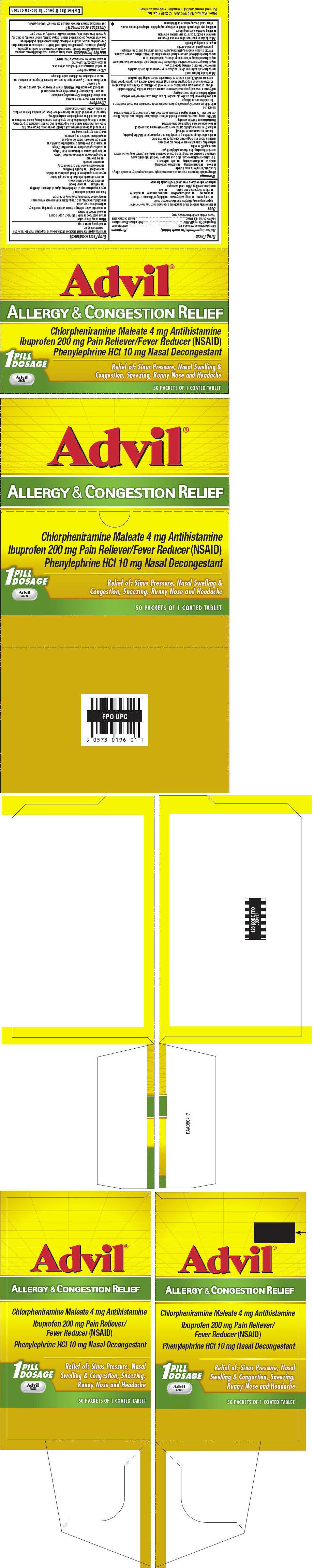 PRINCIPAL DISPLAY PANEL - 50 Packet Tray