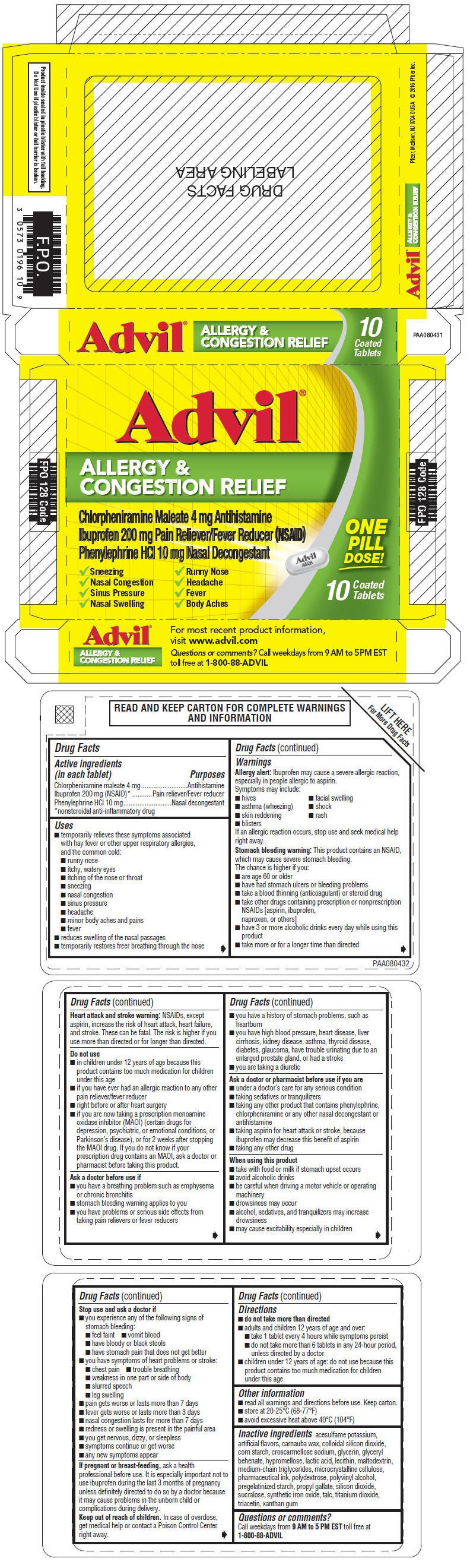 PRINCIPAL DISPLAY PANEL - 10 Tablet Blister Pack Carton