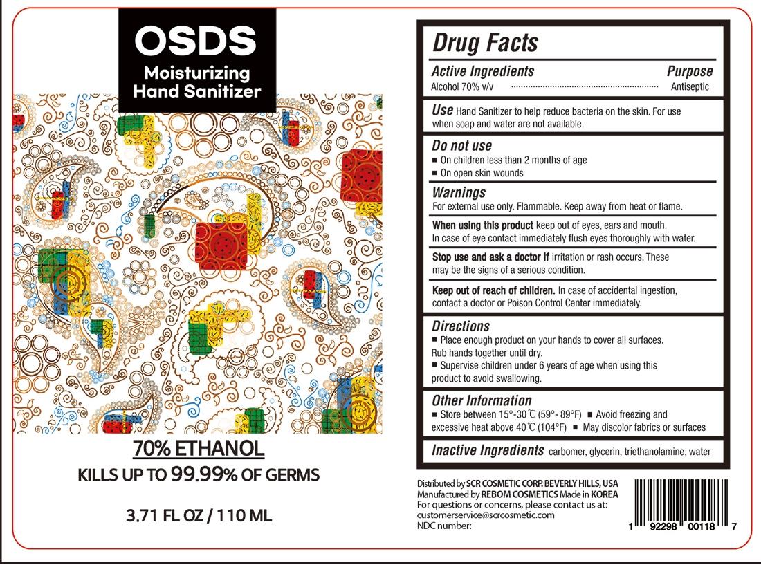OSDS Hand Sanitizer 110mL (3)