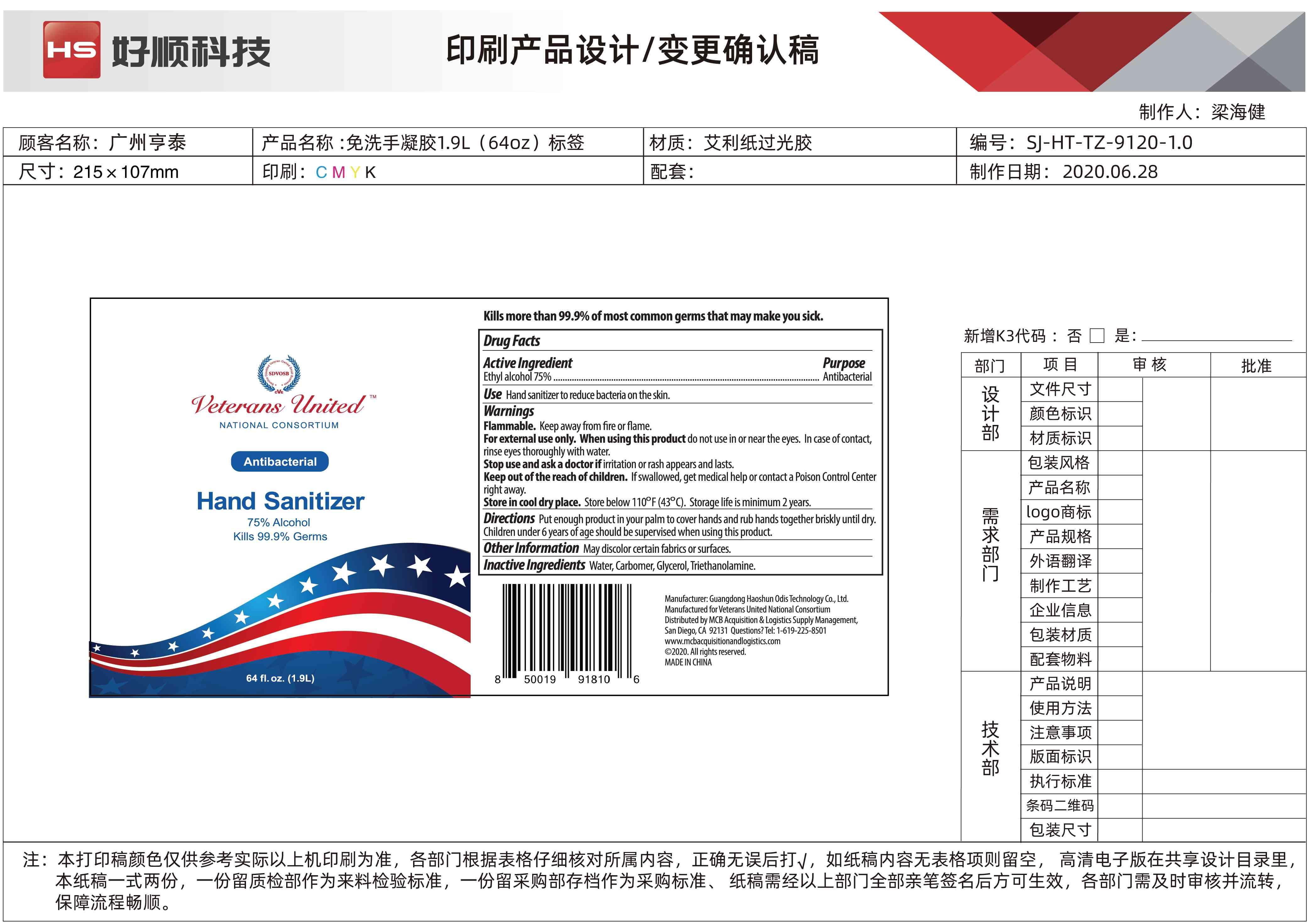 1.9L Bottle Label