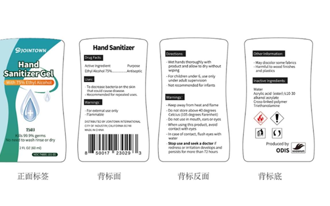 60 mL Bottle Label