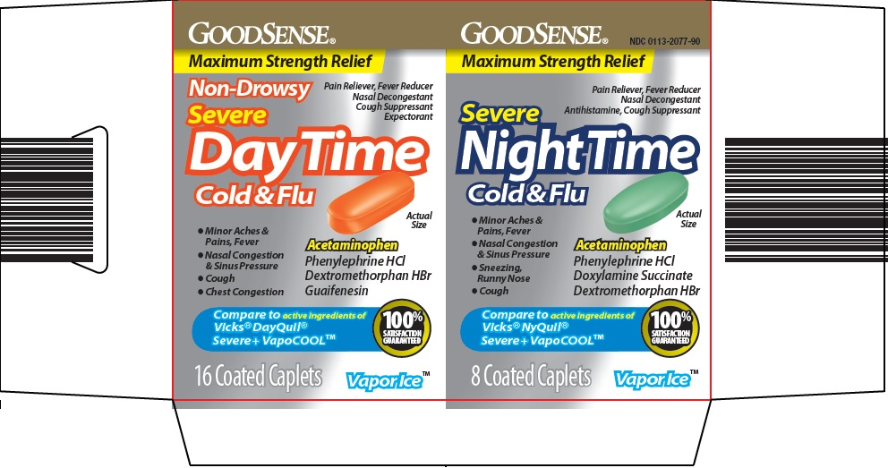 severe day time night cold and flu image 1