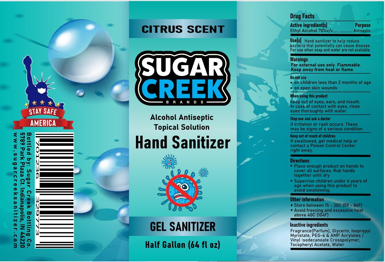 Gel Hand Sanitizer C 1892ml