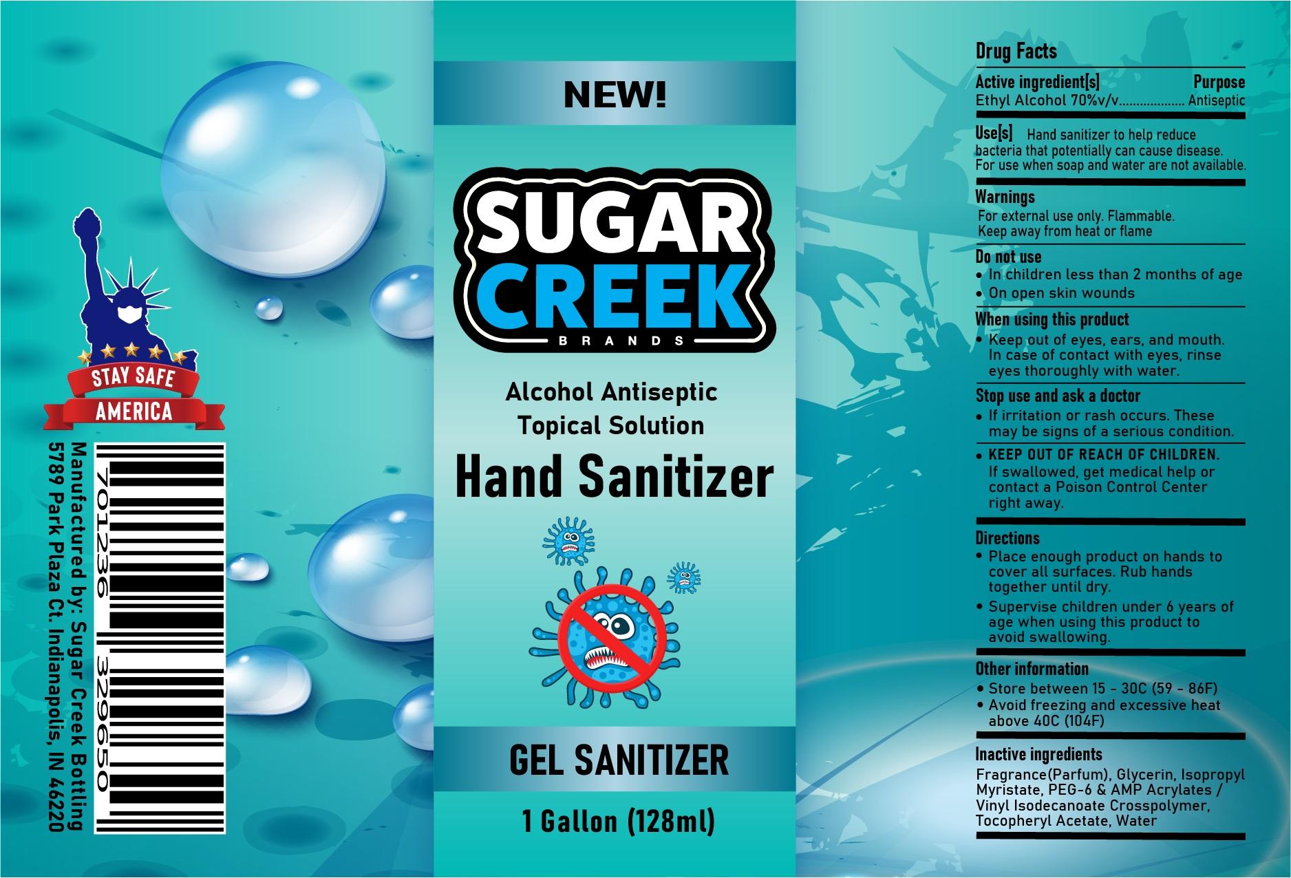 Gel Hand Sanitizer 3785ml