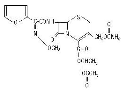 cefuroxime-structure