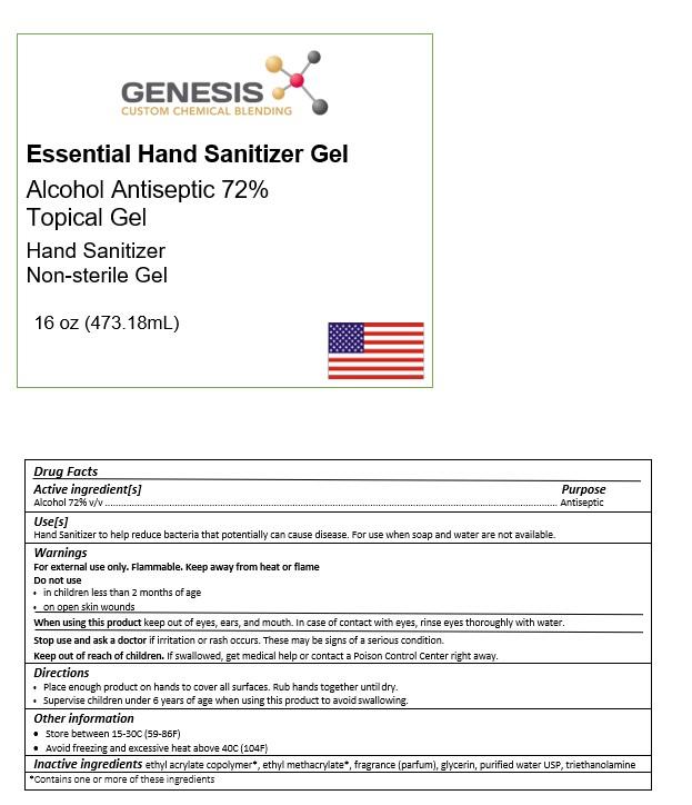 Genesis Gelled 16oz - 473.18 mL