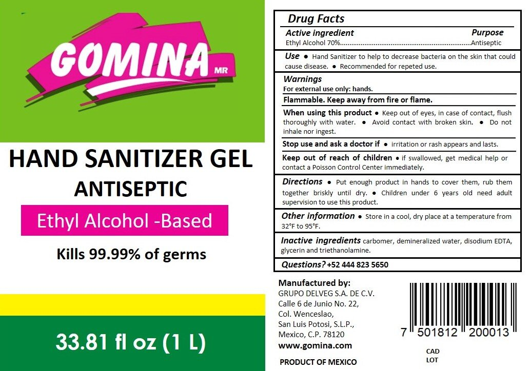 Hand Sanitizer Label