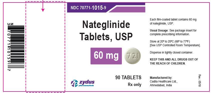 nateglinide tabs 60 mg
