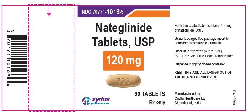nateglinide tabs 120 mg