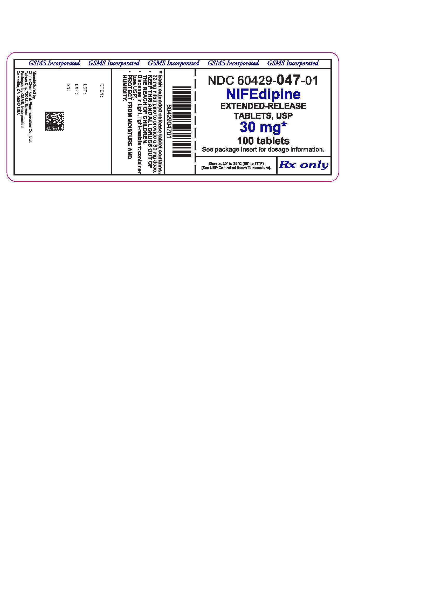 Nifedipin hipertónia, CORINFAR 10 mg retard filmtabletta