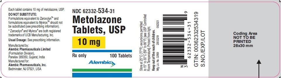 metolazone-10-mg