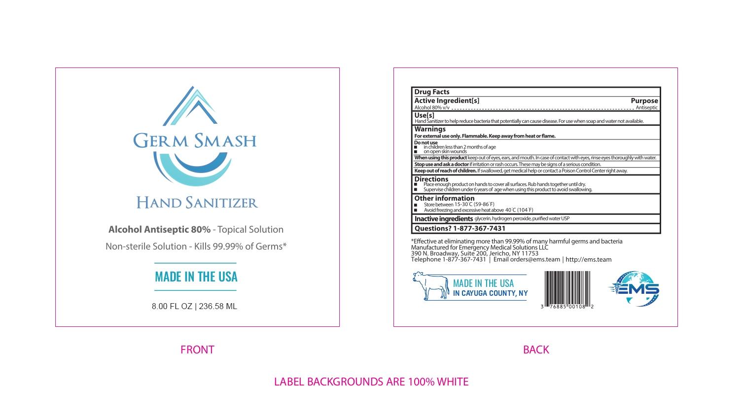 USA Germ Smash 236.58ml