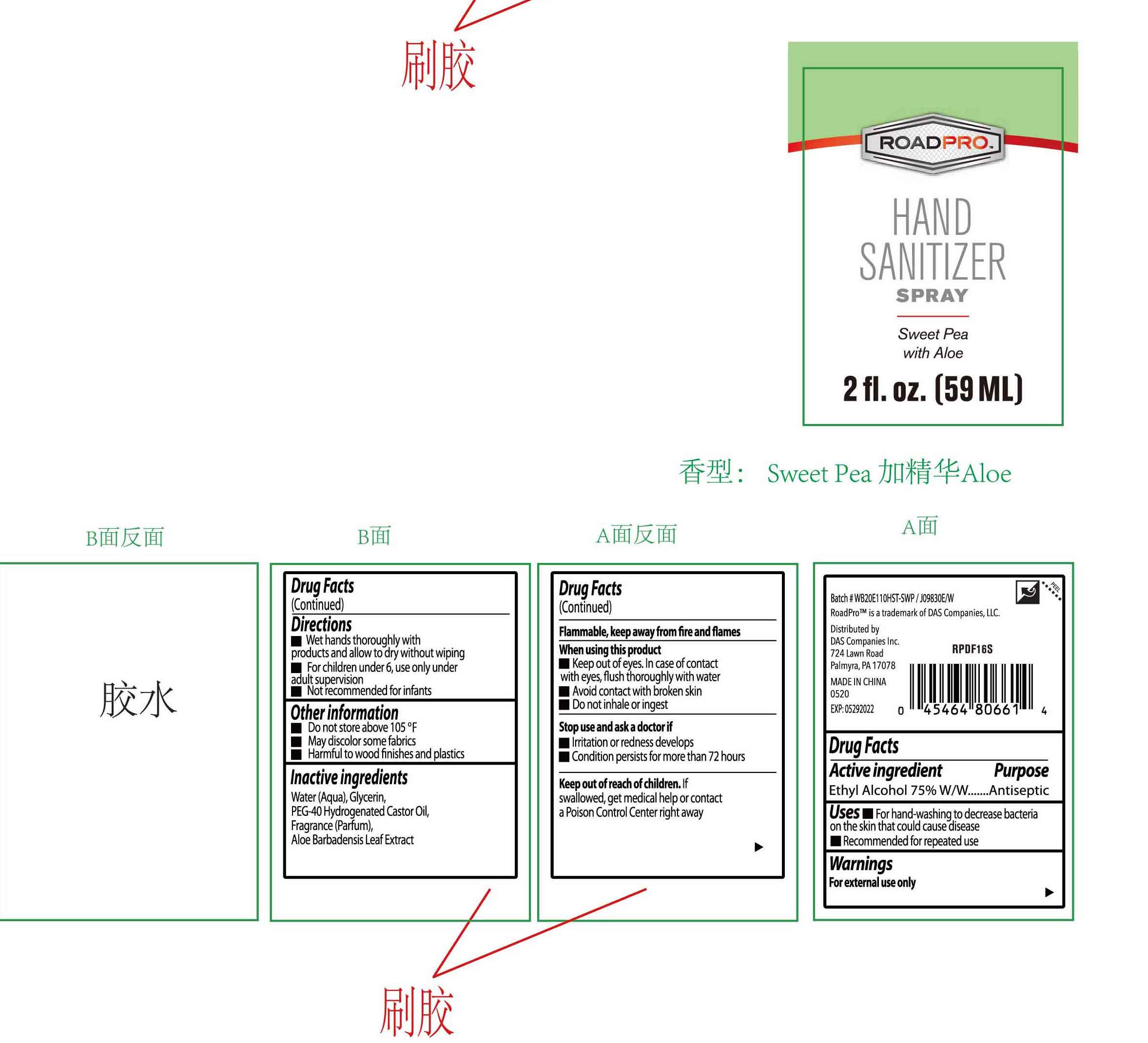 59ml package label
