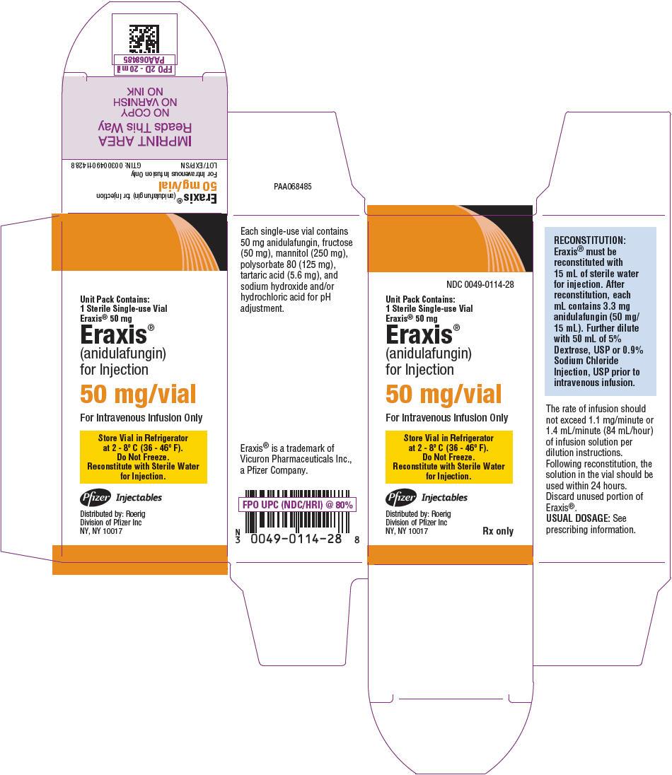 PRINCIPAL DISPLAY PANEL - 50 mg Vial Carton