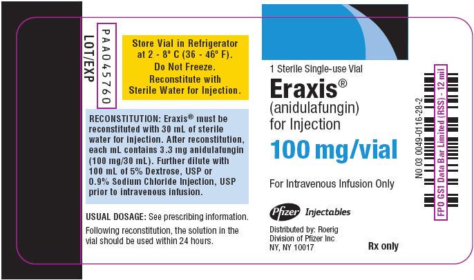 PRINCIPAL DISPLAY PANELPANEL - 100 mg Vial Label