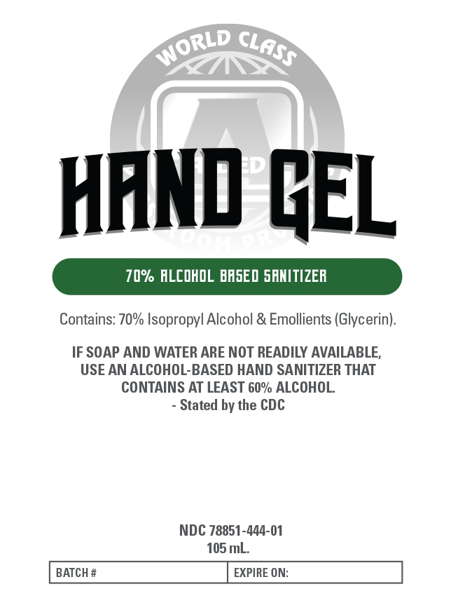 105 ml label front