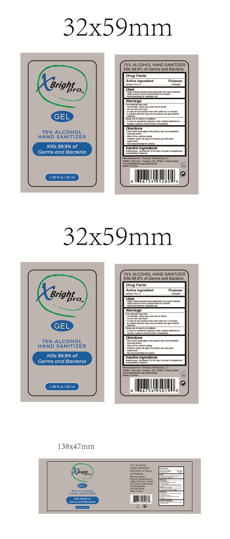 50ml 60ml 100ml label