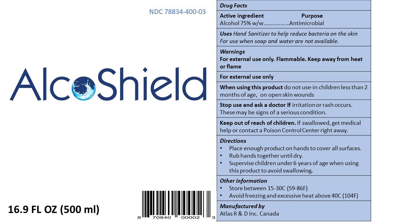 FDA label front back