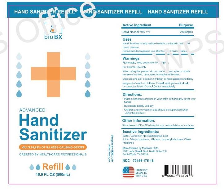 BioBx 16oz Sani Label