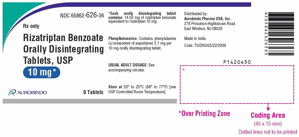 PACKAGE LABEL-PRINCIPAL DISPLAY PANEL - 10 mg (9 Tablet Bottle)