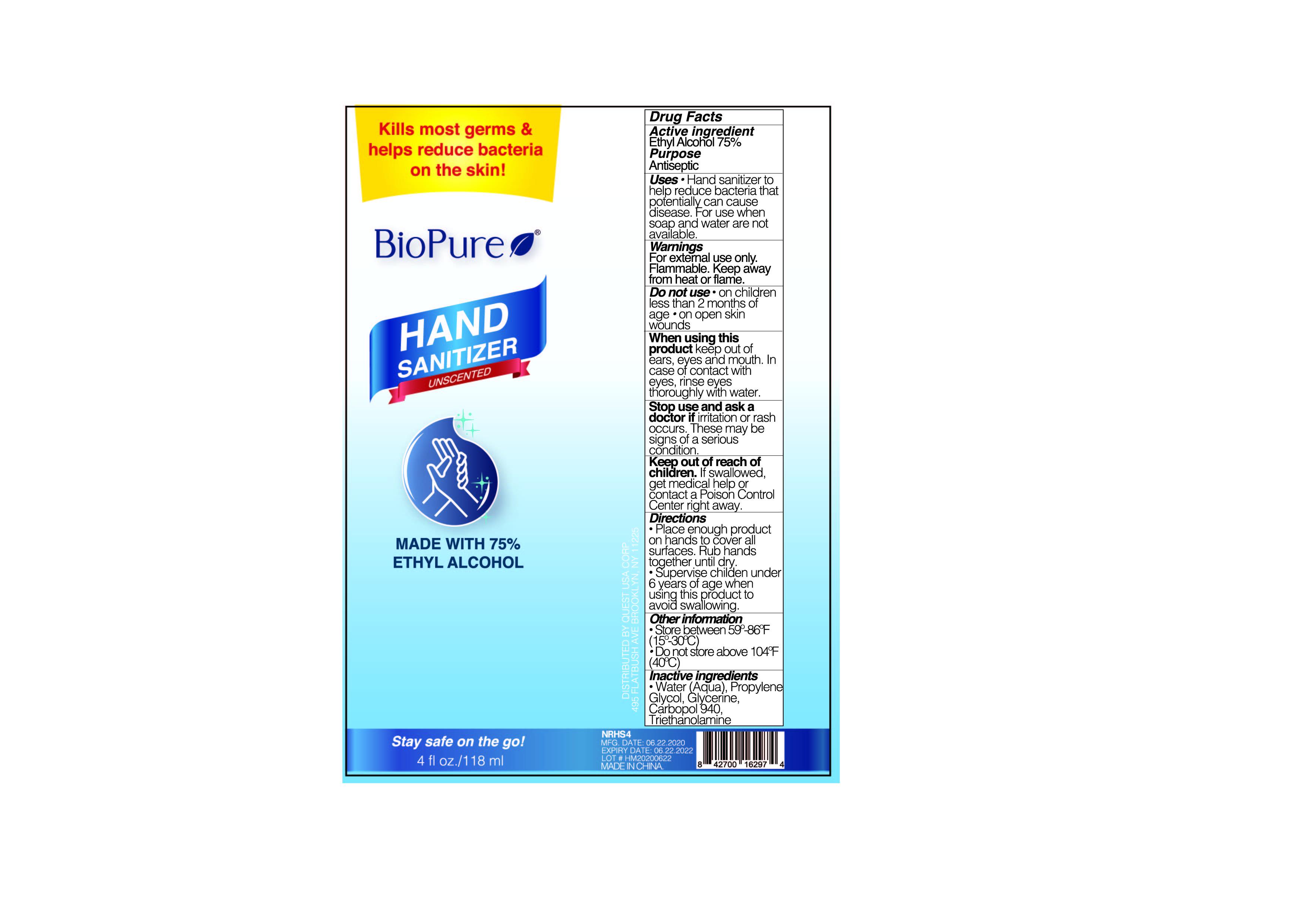 118 ml label