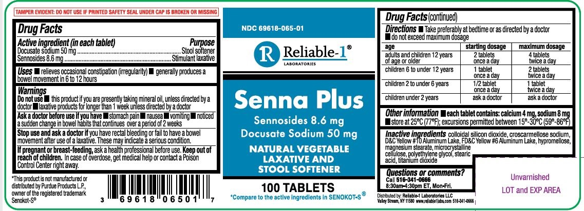 Senna Plus Label