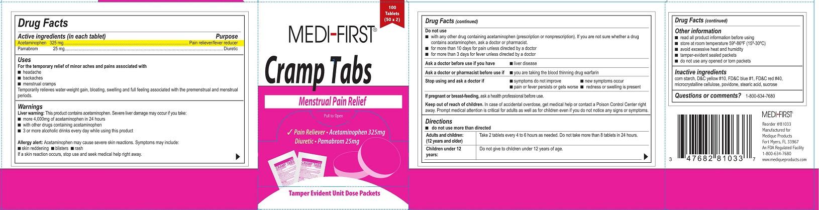 edi-First Cramp Tabs
