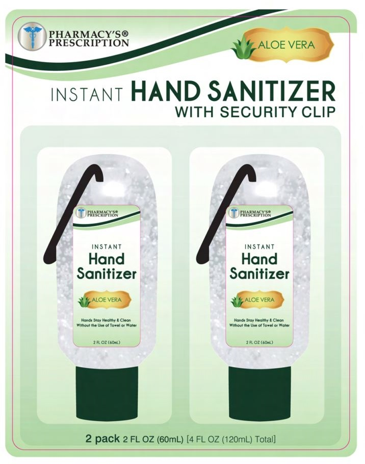 Pharmacys Prescription Hand Sanitizer