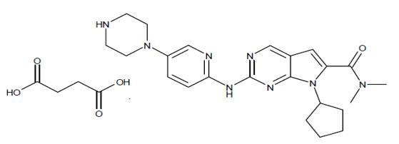 ribociclib structure