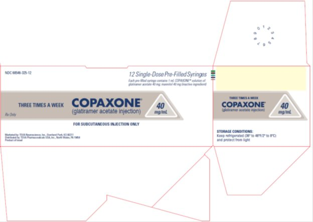 Copaxone® (glatiramer acetate injection) 40 mg/mL, 12 Single-Dose Pre-Filled Syringe Carton, Part 2 of 2