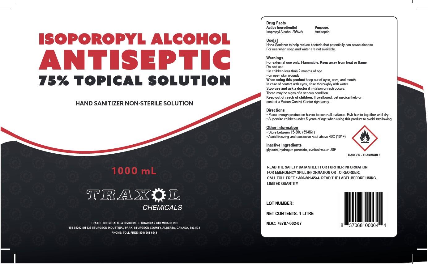 1000 mL bottle label