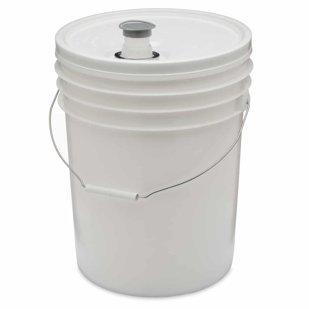 Plastic Pail 5 gallon (20 L) with spout