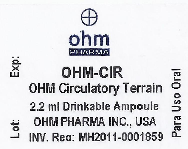 Ampoule Label
