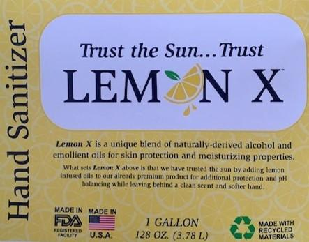 Lemon X Front Panel
