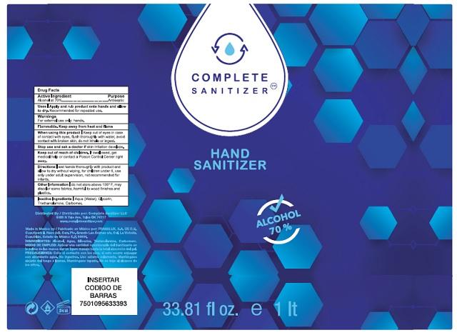1000 ml label