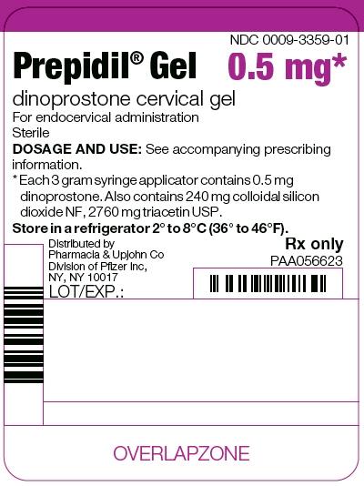 PRINCIPAL DISPLAY PANEL - 3 g Syringe Applicator Label