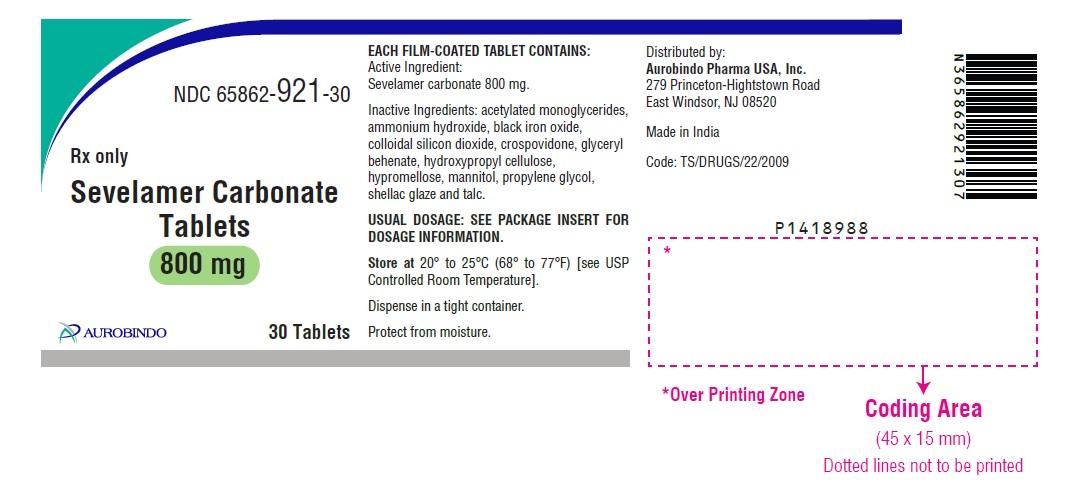 PACKAGE LABEL-PRINCIPAL DISPLAY PANEL - 800 mg (30 Tablets Bottle)