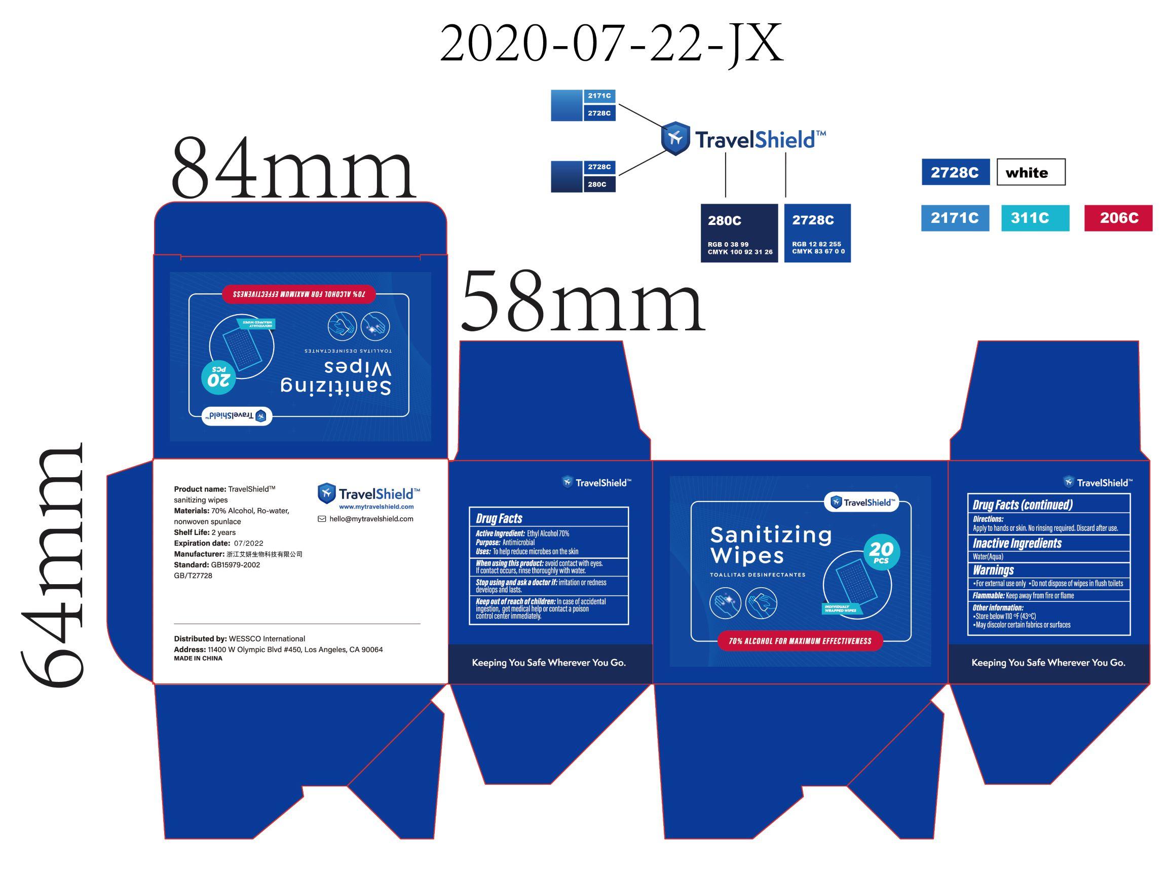 20pcs label
