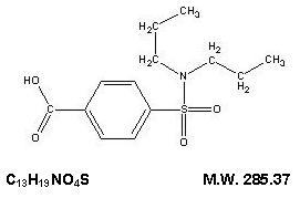 probenecid-molec-structure