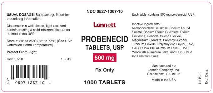 probenecid-500mg-1000count-container-label