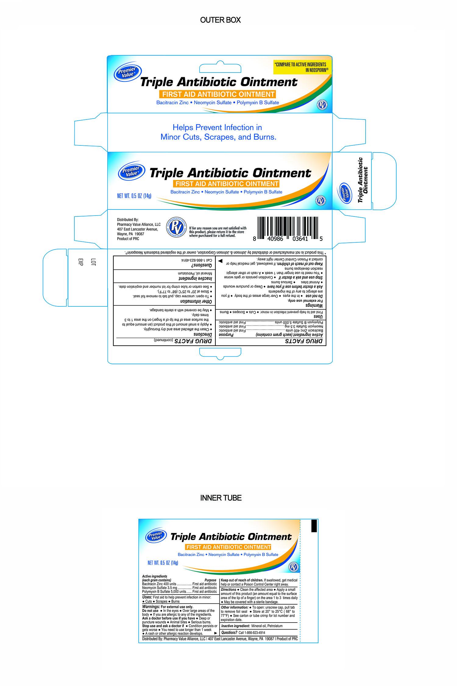 pv triple antibiotic 0.5oz PV03641-