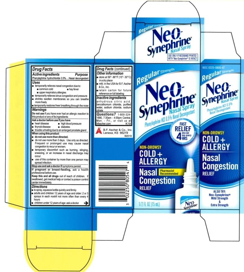 Neo-Synephrine Regular Strength
