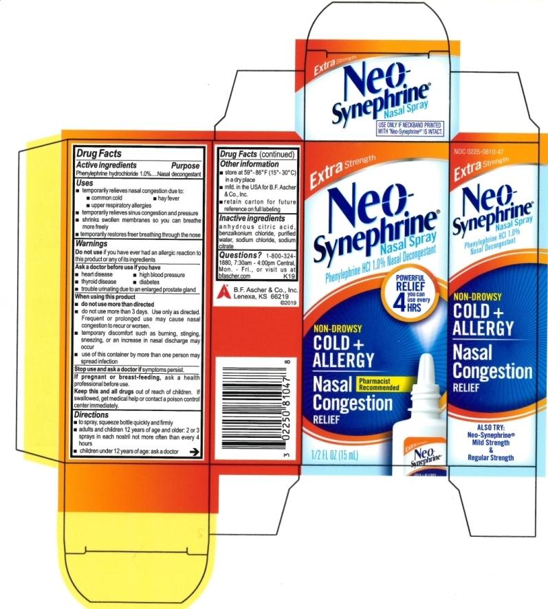 Neo-Synephrine Extra Strength