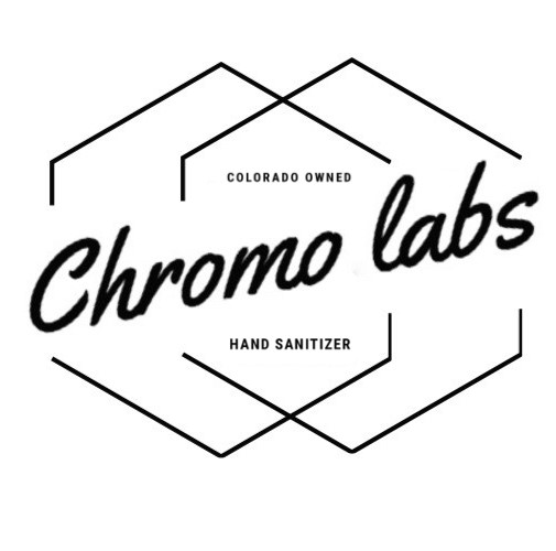 Colorado owned chromo labs hand sanitizer