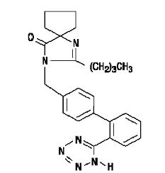 Irbesartan Chemical Structure
