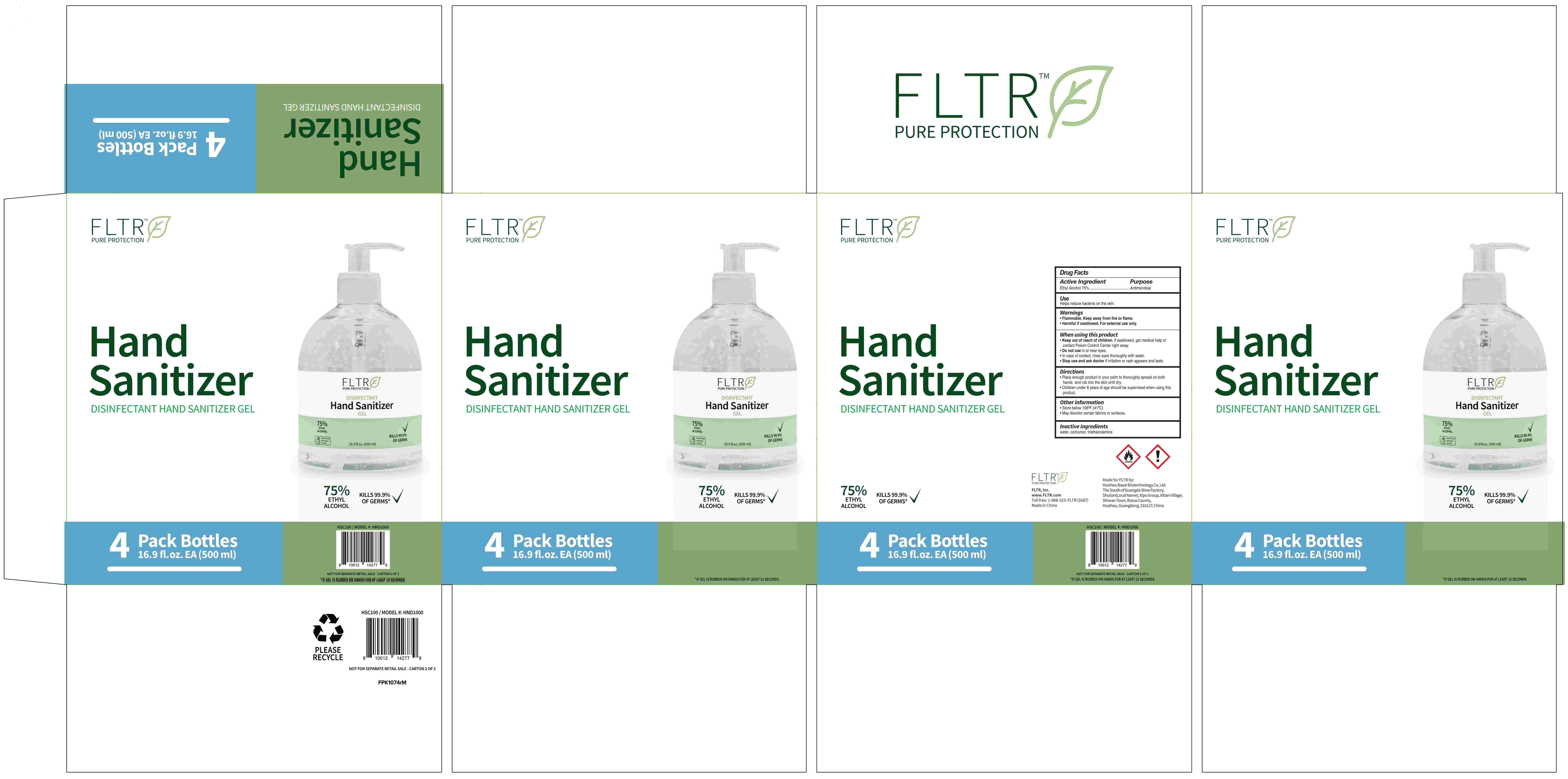 HSC100_Retail box_Hand Sanitizer 4PK