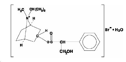 ipratropium-structure