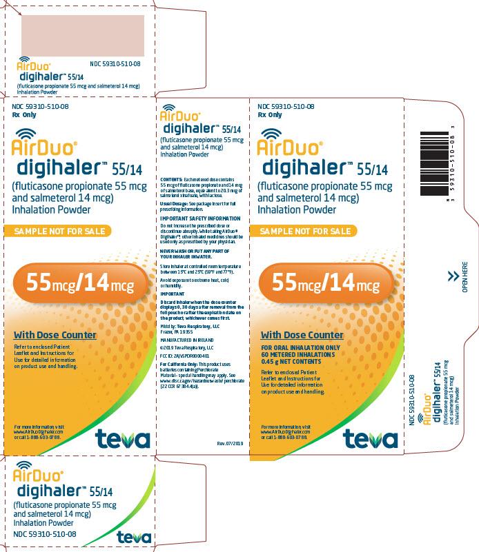 55/14 mcg sample carton