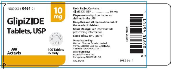 Glipizide Tablets, USP 10 mg
